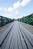 Brücke im pai am 16. Dezember 2015: Stockfoto