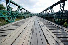 Brücke im pai am 16. Dezember 2015: Lizenzfreie Stockfotografie