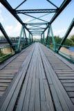 Brücke im pai am 16. Dezember 2015: Lizenzfreie Stockfotos