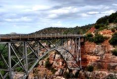 Brücke im sedona Arizona Stockfotografie