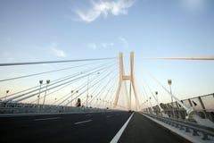 Brücke im Wroclaw Stockfotos