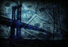 Brücke - Infrastruktur stock abbildung