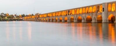 Brücke in Isfahan Lizenzfreies Stockbild