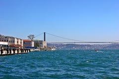 Brücke Istanbul-Bosphorus Lizenzfreie Stockfotos