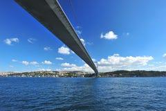 Brücke Istanbul-Bosphorus Lizenzfreie Stockbilder