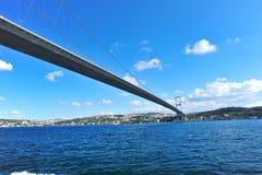 Brücke Istanbul-Bosphorus Lizenzfreie Stockfotografie