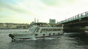 Brücke Istanbuls Galata Lizenzfreie Stockfotos