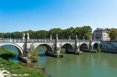 Brücke Italiens, Rom stockbild