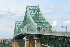 Brücke Jacques-Cartier stockfotografie