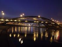 Brücke Könige Mindaugas in Vilnius Lizenzfreies Stockbild