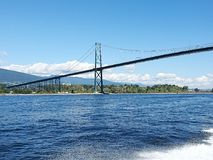 Brücke Kanadas Vancouver Stockbilder