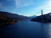 Brücke in Kroatien Stockfotografie