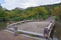 Brücke in Kyoto, Japan Lizenzfreies Stockfoto