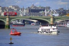 Brücke London der Themses Westminster stockbild