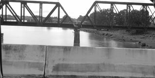 Brücke in Louisiana Lizenzfreie Stockfotos