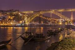 Brücke Luiz I in Porto Lizenzfreies Stockfoto