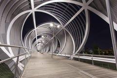 Brücke Madrids Rio Stockbilder