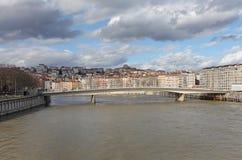 Brücke Marechal Juin in Lyon, Frankreich Stockfotos