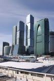 Brücke in Moskau Lizenzfreie Stockfotos
