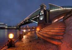 Brücke in Moskau, Russland Lizenzfreie Stockfotografie