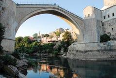 Brücke in Mostar Lizenzfreies Stockbild