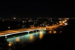 Brücke nach Südperth Lizenzfreies Stockfoto