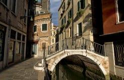 Brücke nach Venedig Stockbilder