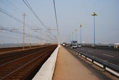 Brücke nach Venedig lizenzfreies stockfoto