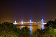 Brücke nachts Stockbild