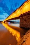 Brücke nachts Stockbilder