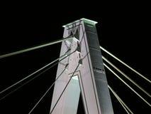 Brücke nachts Stockfoto