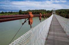 Brücke in Nationalpark Kenting Stockbild