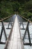 Brücke in Neuseeland stockbild