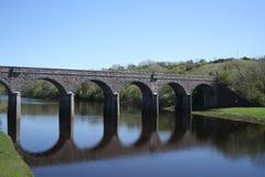 Brücke in Newport Lizenzfreie Stockbilder