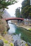 Brücke in Nikko lizenzfreie stockfotografie