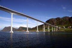 Brücke in Norwegen Lizenzfreie Stockfotos