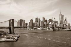 Brücke in NY Stockfotos