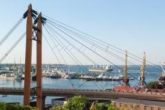 Brücke in Odessa Stockfotografie
