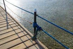 Brücke, Panton im Meer im Sharm el Sheikh Lizenzfreie Stockfotografie