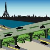 Brücke in Paris Lizenzfreie Stockbilder