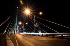 Brücke Phra Rama 8 Stockfotografie
