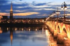 Brücke Pont de Pierre Stockfoto