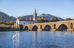 Brücke in Ponte De Lima stockfotos