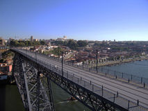Brücke in Porto Lizenzfreie Stockfotos
