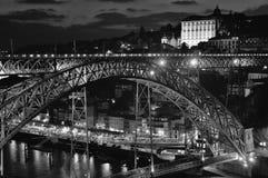 Brücke in Porto Stockbild