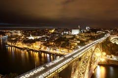 Brücke in Porto Stockfotos