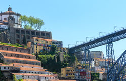 Brücke in Porto, Portugal Lizenzfreies Stockbild