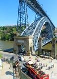 Brücke in Porto, Portugal Lizenzfreie Stockbilder