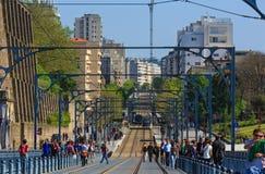 Brücke in Porto, Portugal Stockfotografie