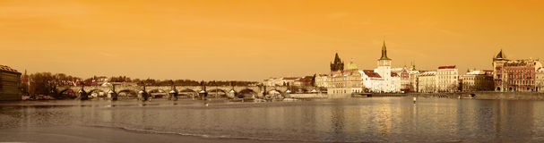 Brücke Prag-Charles Lizenzfreies Stockfoto